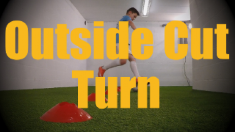 Outside Cut Turn - Cones Dribbling Drills for U12-U13
