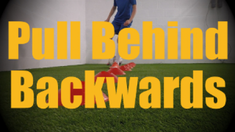 Pull Behind Backwards - Cones Dribbling Drills for U12-U13
