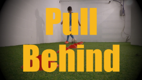Pull Behind - Cones Dribbling Drills for U12-U13