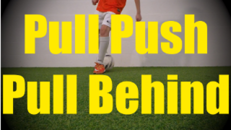 Pull Push Pull Behind - Static Ball Control Drills for U10-U11