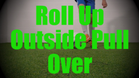 Roll Up Outside Pull Over - Static Ball Control Drills for U8-U9