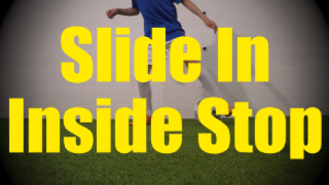 Slide In Inside Stop - Static Ball Control Drills for U10-U11