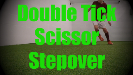 Double Tick Scissor Stepover - Dynamic Ball Mastery Drills for U8-U9