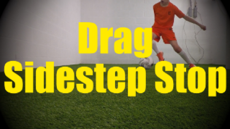Drag Sidestep Stop - Dynamic Ball Mastery Drills for U10-U11