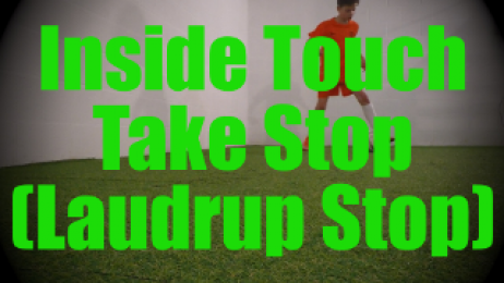 Inside Touch Take Stop (Laudrup Stop) - Dynamic Ball Mastery Drills for U8-U9