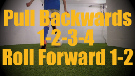 Pull Backwards 1-2-3-4 Roll Forward 1-2 - Dynamic Ball Mastery Drills for U12-U13
