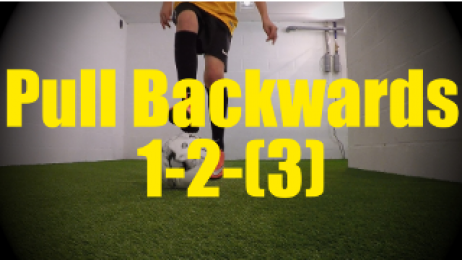 Pull Backwards 1-2-(3) - Dynamic Ball Mastery Drills for U10-U11
