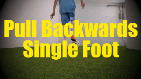Pull Backwards Single Foot - Dynamic Ball Mastery Drills for U10-U11