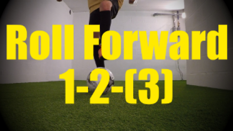 Roll Forward 1-2-(3) - Dynamic Ball Mastery Drills for U10-U11