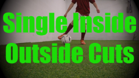 Single Inside Outside Cuts - Dynamic Ball Mastery Drills for U8-U9