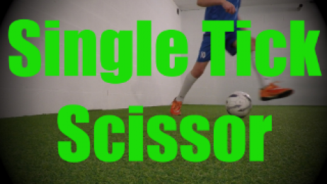 Single Tick Scissor - Dynamic Ball Mastery Drills for U8-U9