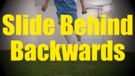 Slide Behind Backwards- Dynamic Ball Mastery Drills for U10-U11