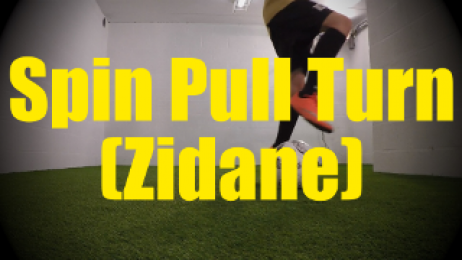 Pull Spin Turn (Zidane) - Dynamic Ball Mastery Drills for U10-U11