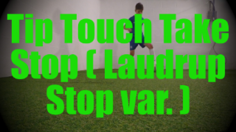 Tip Touch Take Stop (Laudrup Stop var.) - Dynamic Ball Mastery Drills for U8-U9