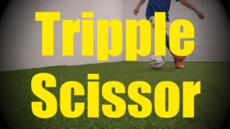 Triple Scissor - Dynamic Ball Mastery Drills for U10-U11