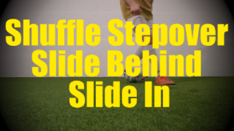 Shuffle Stepover Slide Behind Slide In - Fast Footwork Drills for U10-U11