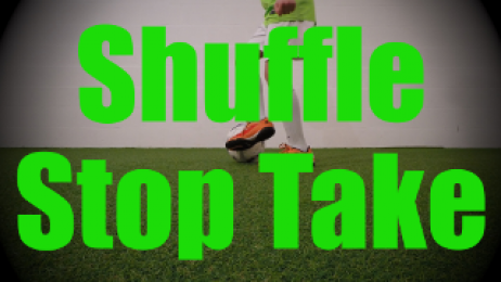 Shuffle Stop Take - Fast Footwork Drills for U8-U9
