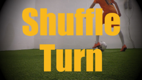 Shuffle Turn - Wall Work Drills for U12-U13