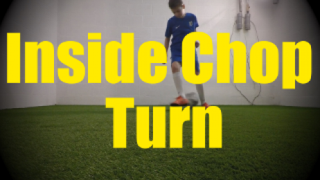 Inside Chop Turn - 1v1 Moves - Change of Direction - Quick Turns for U10-U11