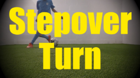 Stepover Turn - 1v1 Moves - Change of Direction - Quick Turns for U10-U11