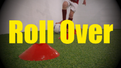 Roll Over - Cones Dribbling Drills for U10-U11