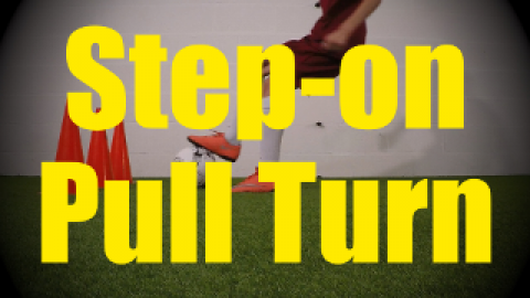 Step-on Pull Turn - U-Turns - Change of Direction - 1v1 Moves for U10-U11