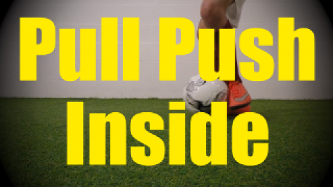 Pull Push Inside - Static Ball Control Drills for U10-U11