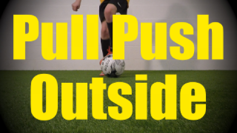 Pull Push Outside - Static Ball Control Drills for U10-U11