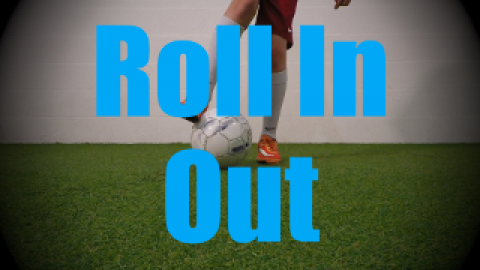 Roll In Out - Static Ball Control Drills for U6-U7