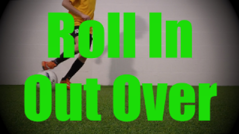 Roll In Out Over - Static Ball Control Drills for U8-U9