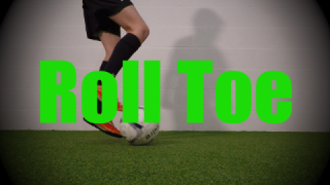 Roll Toe - Static Ball Control Drills for U8-U9