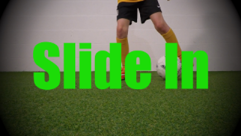 Slide In - Static Ball Control Drills for U8-U9