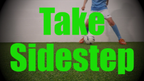 Take Sidestep - Static Ball Control Drills for U8-U9