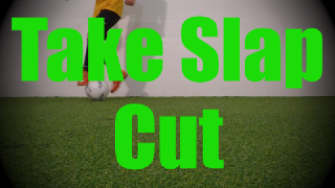 Take Slap Cut - Static Ball Control Drills for U8-U9
