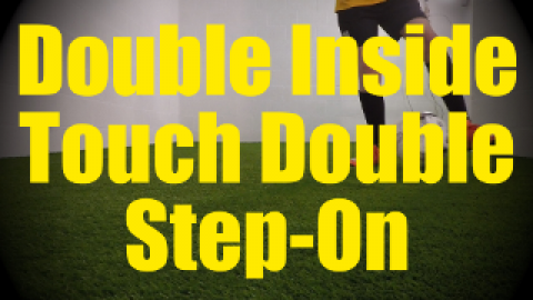 Double Inside Touch Double Step-On - Dynamic Ball Mastery Drills for U10-U11
