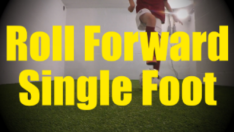 Roll Forward Single Foot - Dynamic Ball Mastery Drills for U10-U11