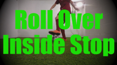 Roll Over Inside Stop - Dynamic Ball Mastery Drills for U8-U9