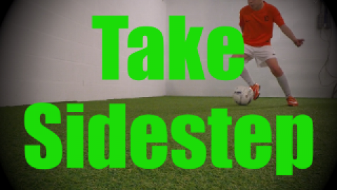 Take Sidestep - Dynamic Ball Mastery Drills for U8-U9