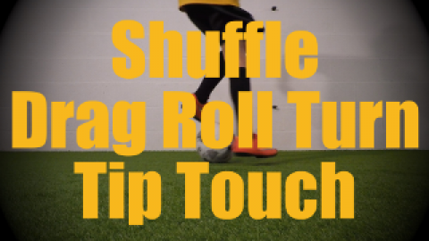 Shuffle Drag Roll Turn Tip Touch - Fast Footwork Drills for U12-U13