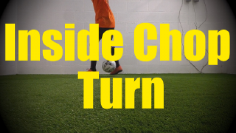 Inside Chop Turn - Wall Work Drills for U10-U11