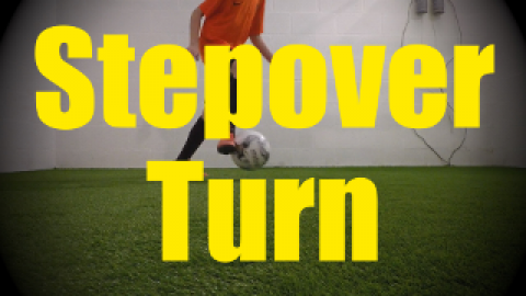 Stepover Turn - Wall Work Drills for U10-U11