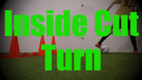 Inside Cut Turn - Crossing - Change of Direction - 1v1 Moves for U8-U9