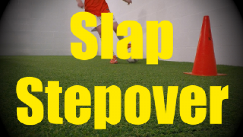 Slap Stepover (Okocha) - Feints and Fakes - 1v1 Moves for U10-U11