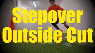 Stepover Outside Cut - Crossing - Change of Direction - 1v1 Moves for U10-U11