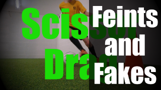 Feints and Fakes - 1v1 Soccer Moves - Defender in Front