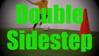 Double Sidestep - Feints and Fakes - 1v1 Moves for U8-U9