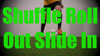 Shuffle Roll Out Slide In - Fast Footwork Drills for U8-U9