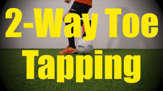 2-Way Toe Tapping - Static Ball Control Drills for U10-U11