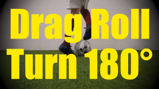 Drag Roll Turn 180° - Static Ball Control Drills for U10-U11
