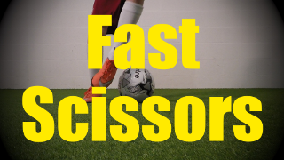 Fast Scissors - Static Ball Control Drills for U10-U11